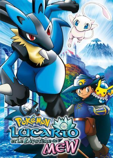 Покемон 08: лукаріо і таємниця м'ю / pokemon
