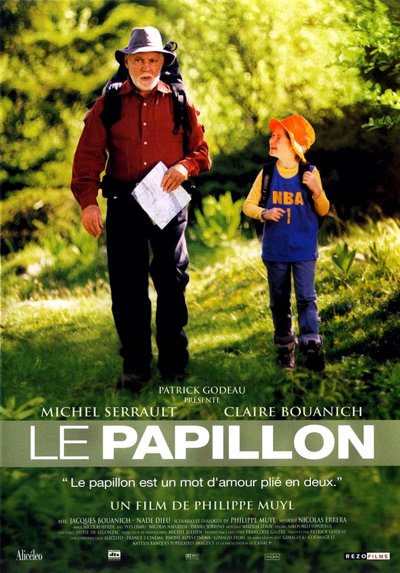 Метелик / The Butterfly / Le papillon (2002)