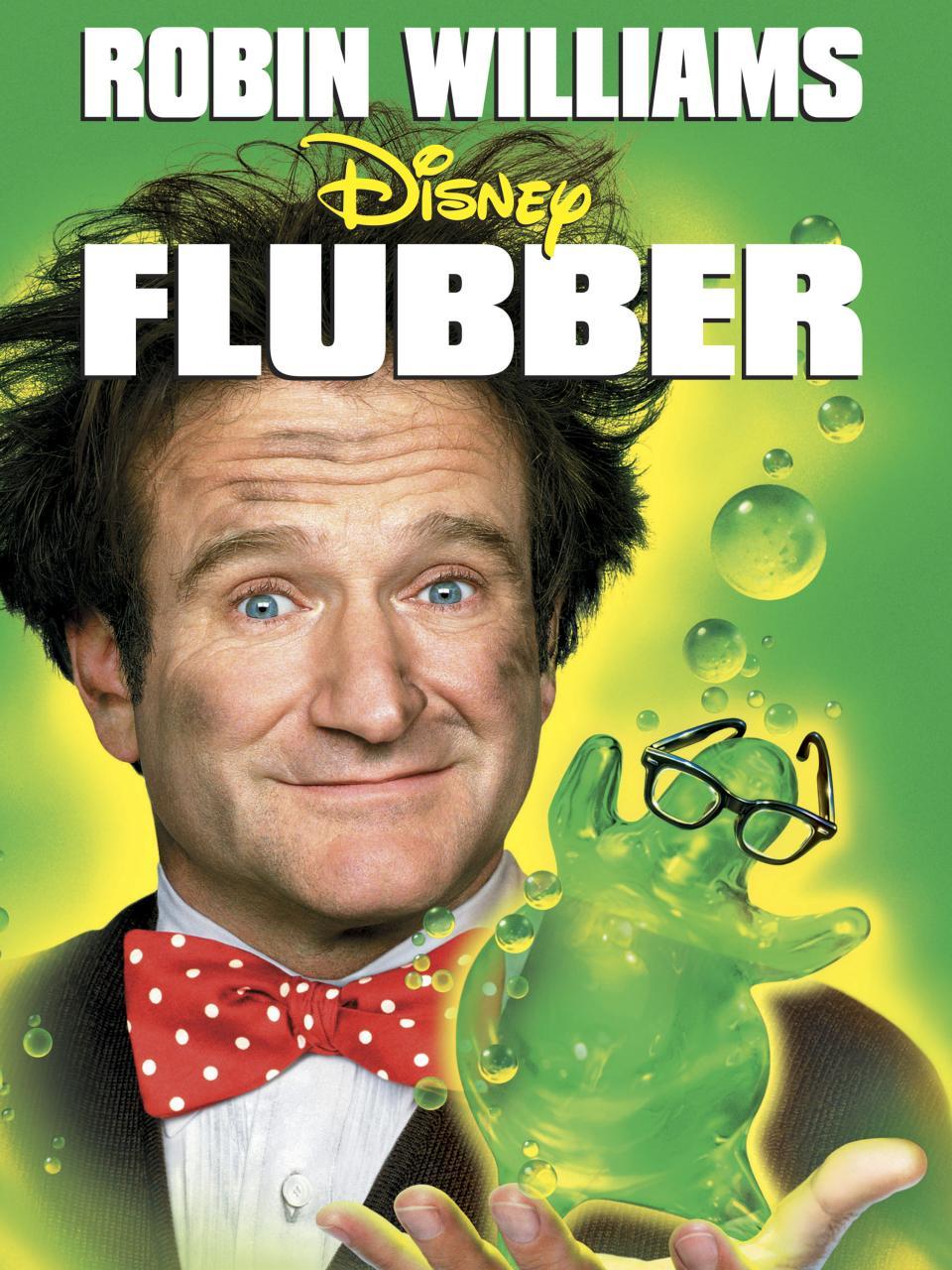 Флаббер / flubber (1997) hdtvrip 720р ukr/eng