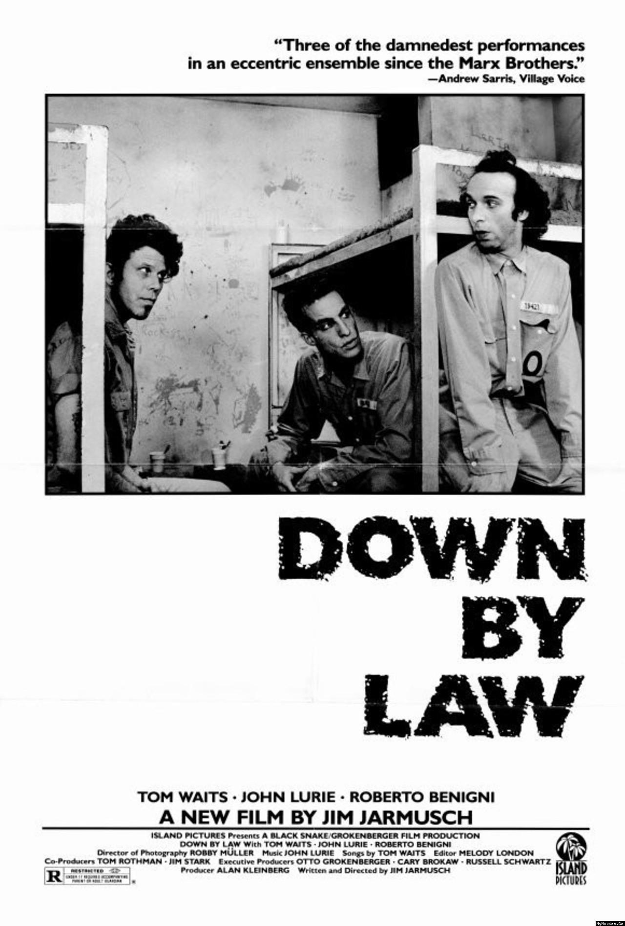 Поза законом / Down by Law (1986) Ukr/Eng | Sub Eng