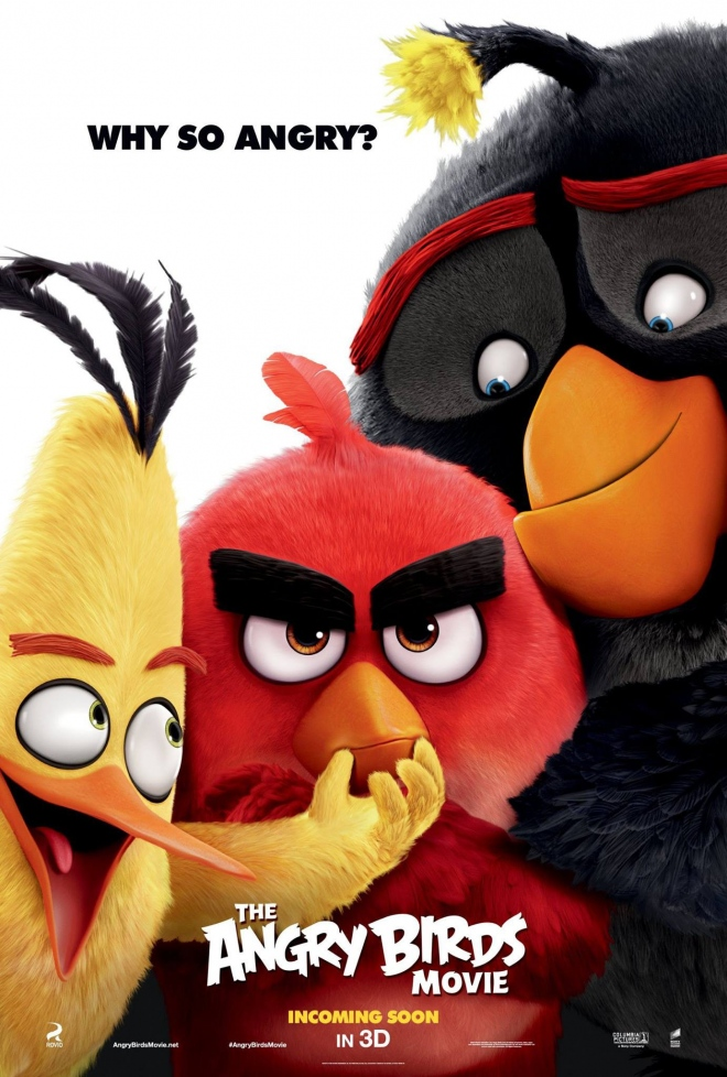 Angry Birds в кіно / The Angry Birds Movie (2016)