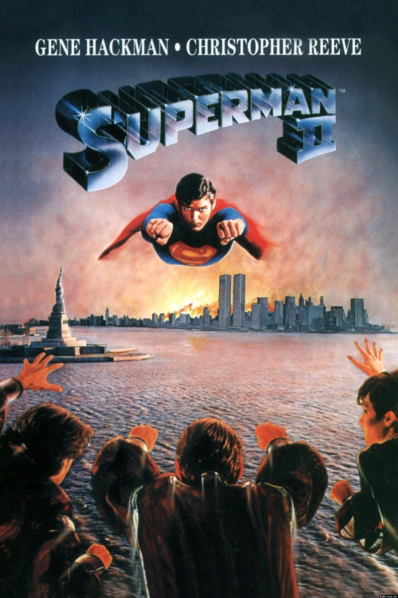Супермен 2 / Superman II (1980) Ukr/Eng