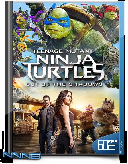 Изображение для Підлітки-мутанти. Черепашки-ніндзя 2 / Teenage Mutant Ninja Turtles: Out of the Shadows (2016) BDRip 720p (60fps) [Ukr/Eng] (кликните для просмотра полного изображения)