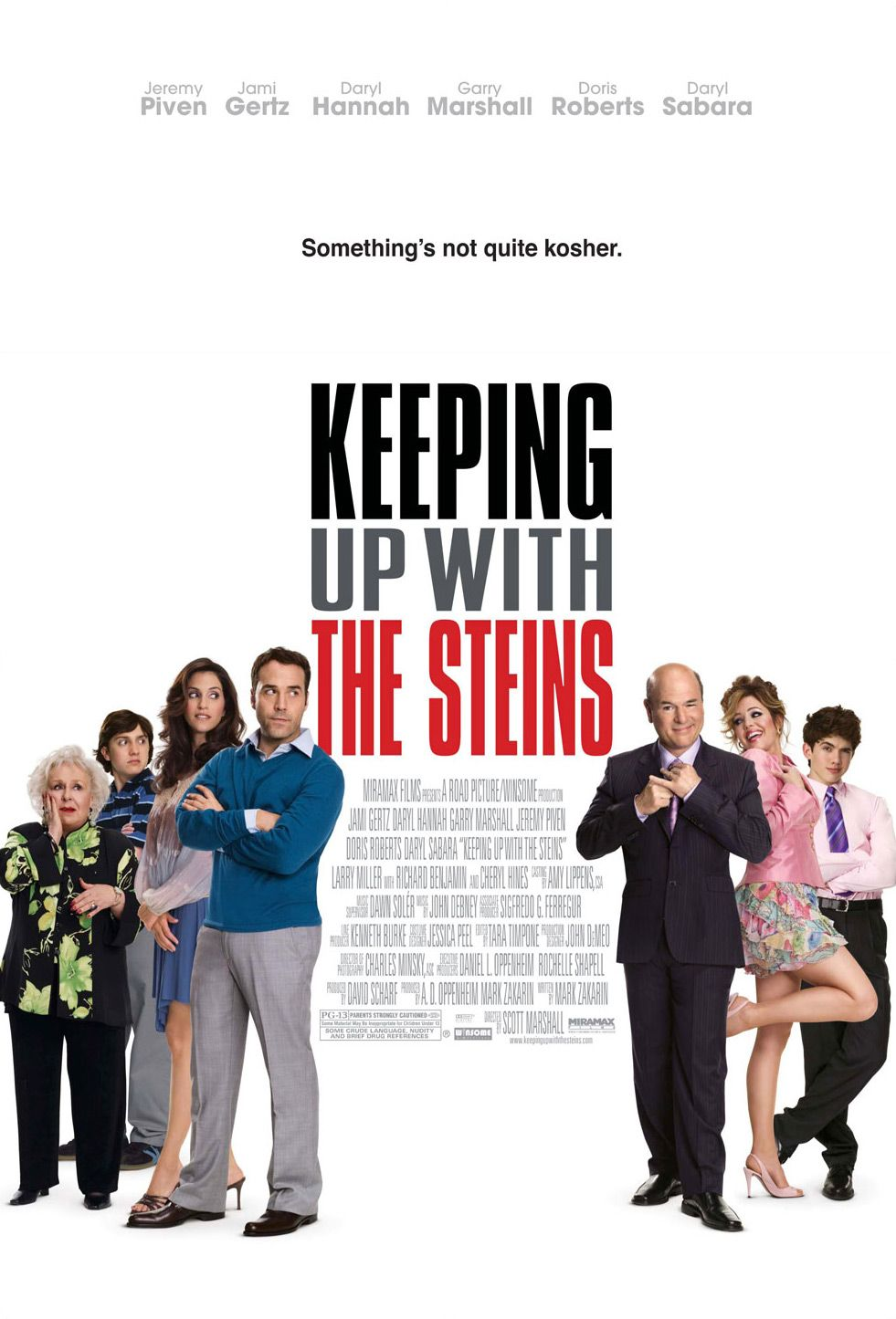 Не поступитися Штейнам / Keeping Up with the Steins (2006) Ukr/Eng